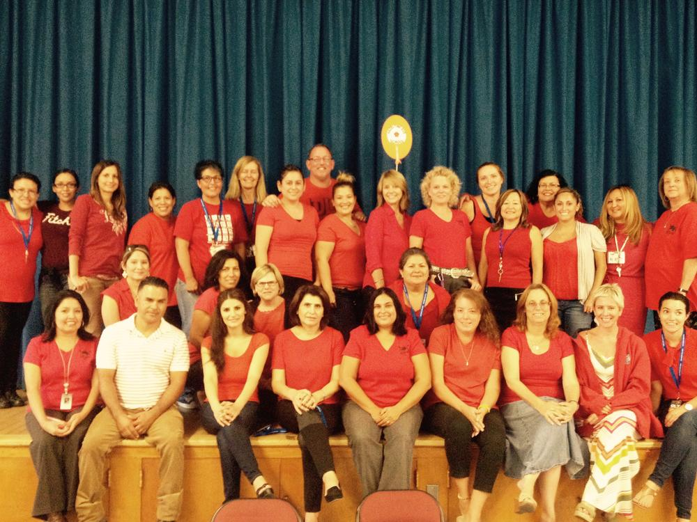 Red Shirt Tuesday Photo 9-30-14