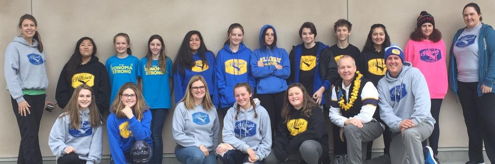 Students and staff sporting Hillcrest spirit wear
