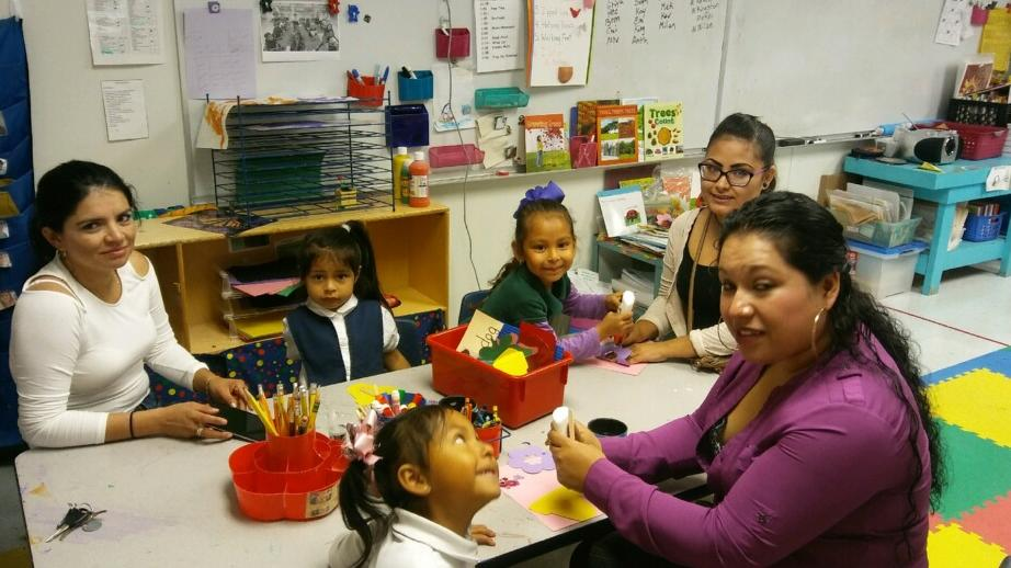 Parents and students enjoyed various learning activities in their child s  classroom.