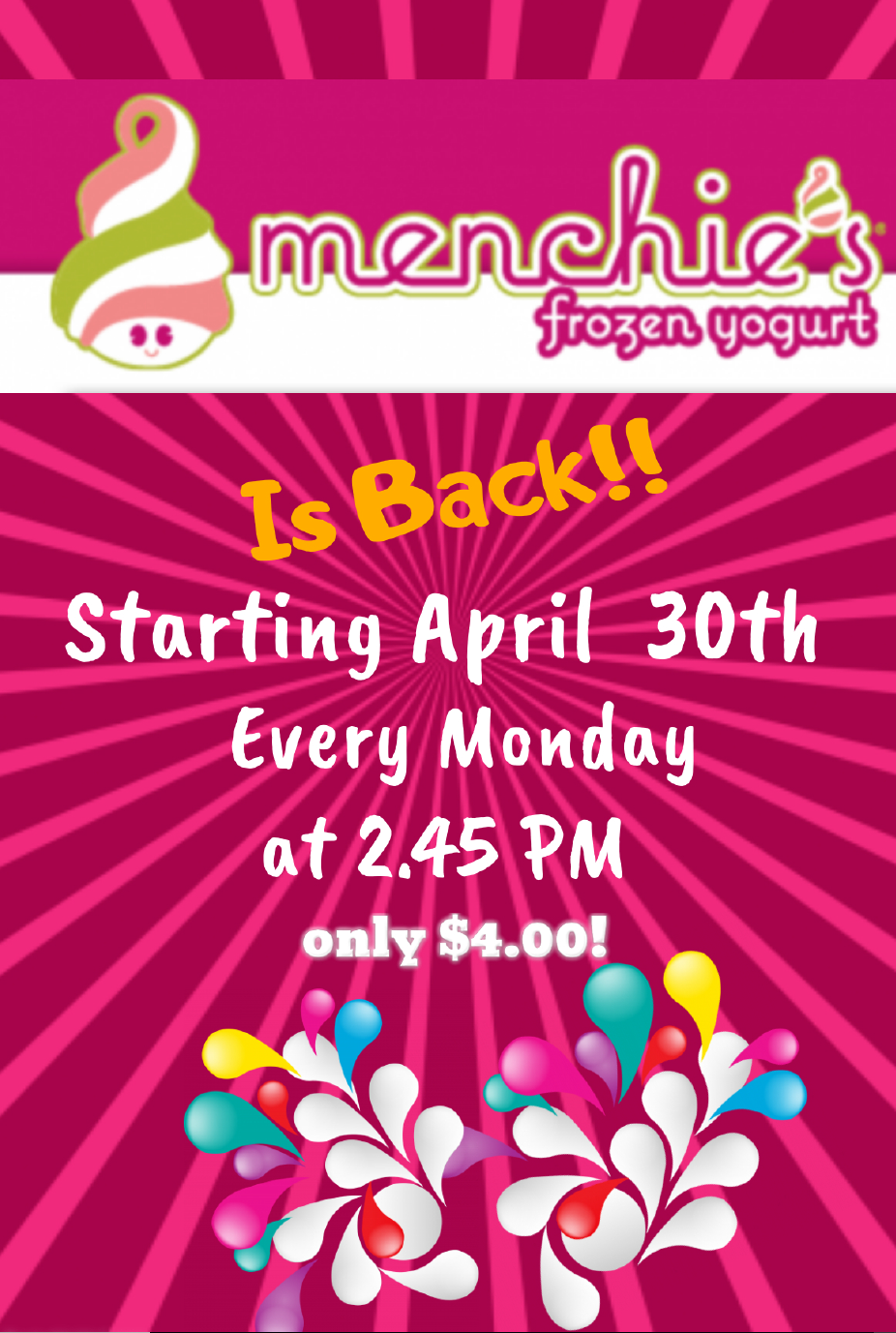 Menchies Flyer