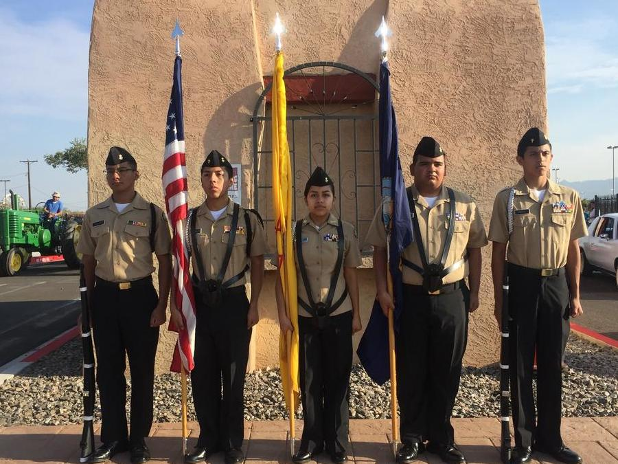 HHS JROTC at the 2017 State Fair