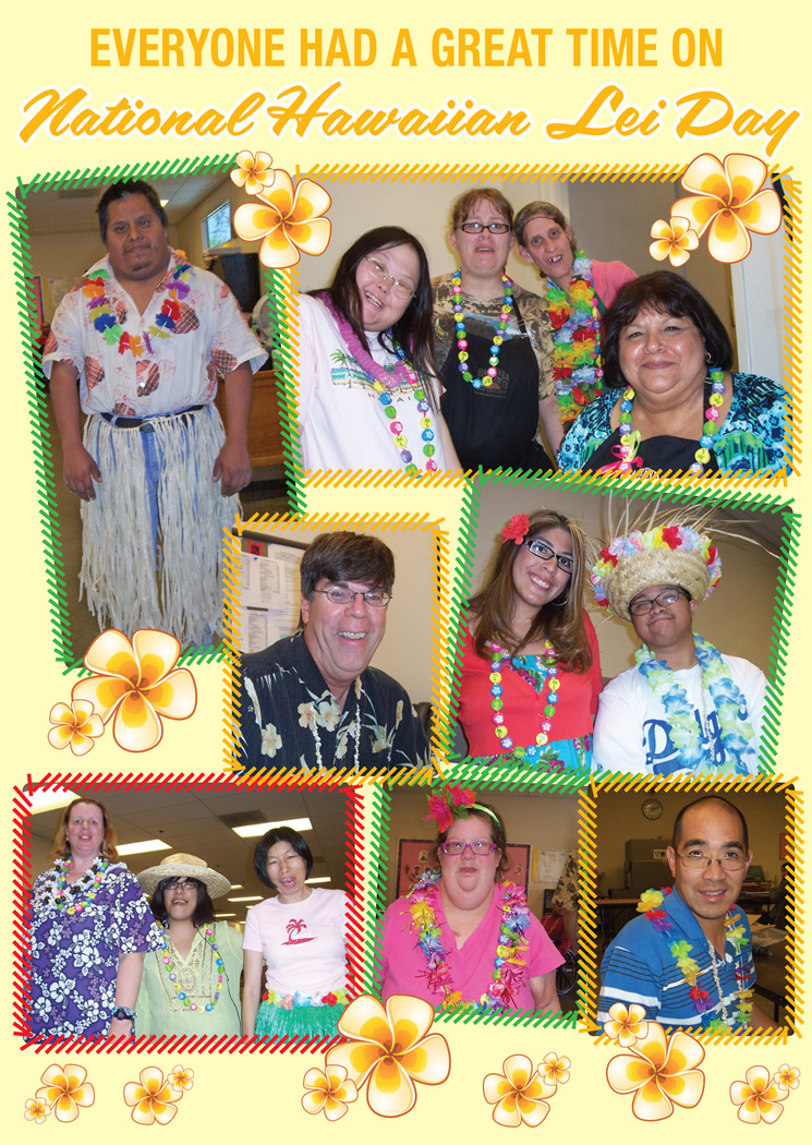 Hawaiian Lei Day