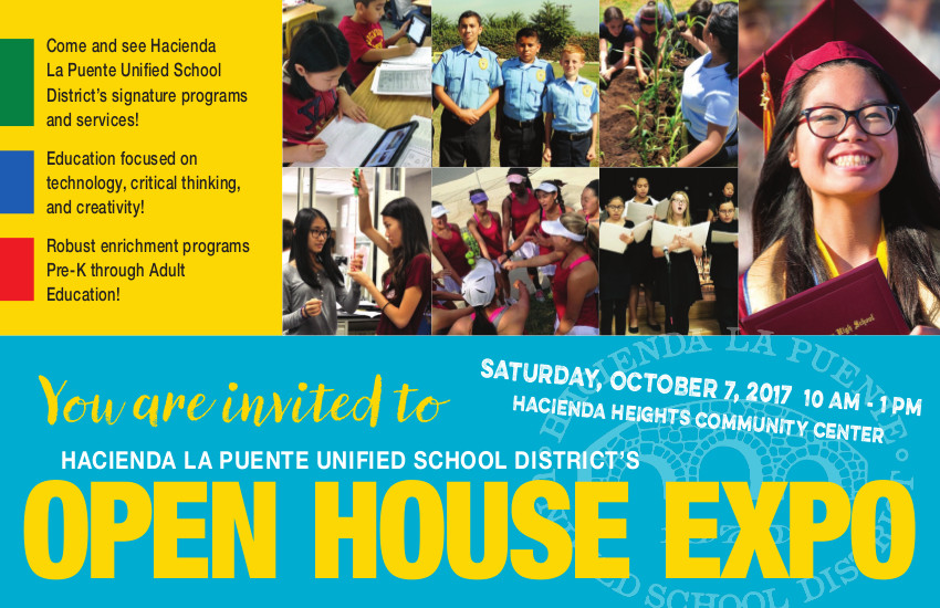 Open House Expo flyer