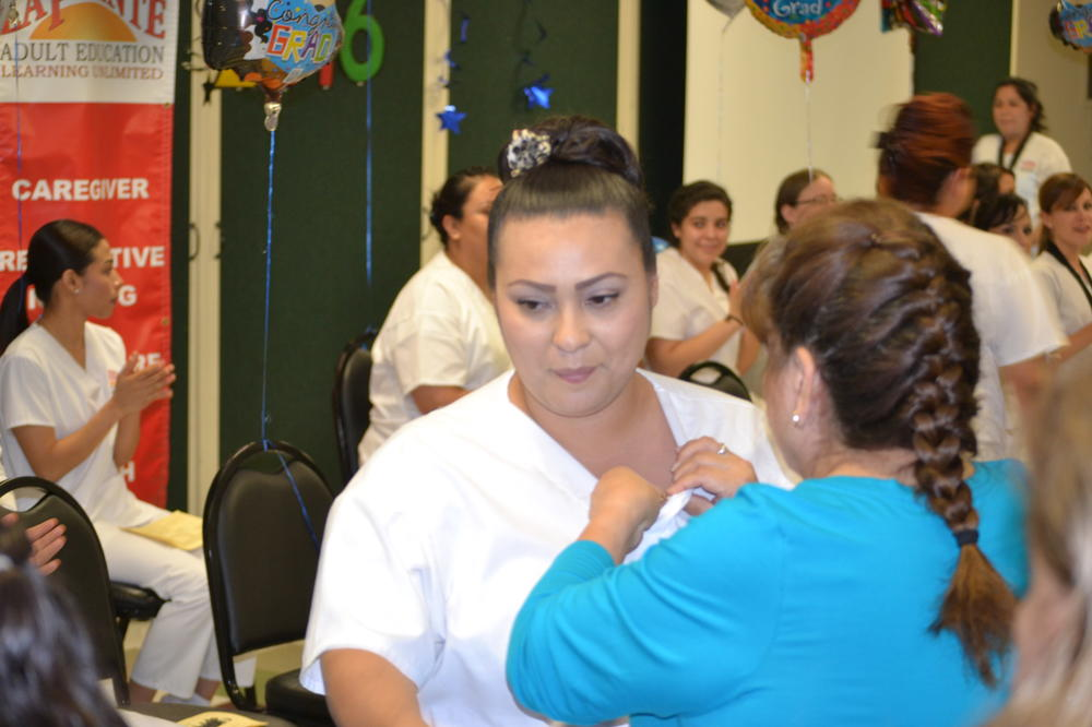 Nursing assistants celebration