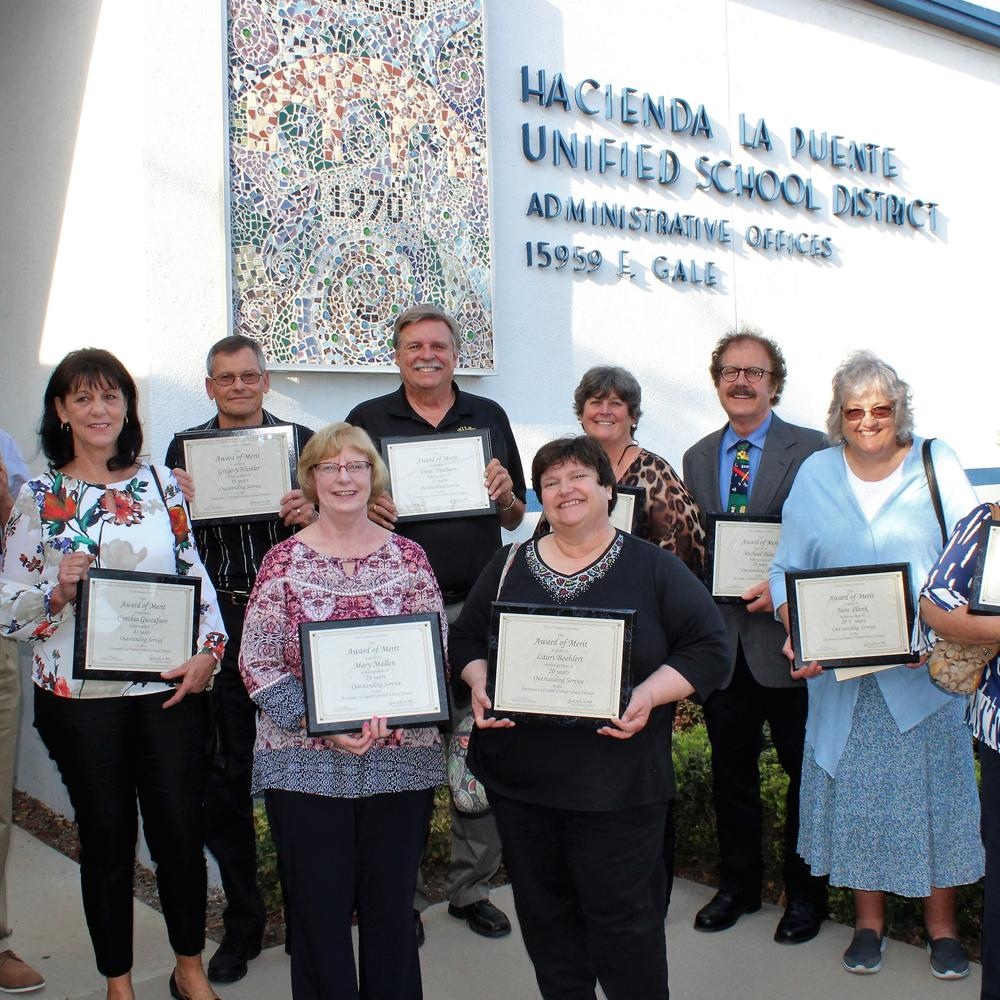 2018 Certificated Retirees