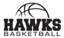 Hawk Basketball Logo
