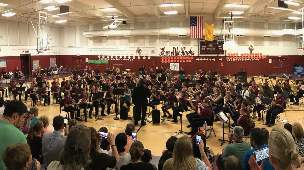 Hoover Community Band performs at the Spring Band Concert