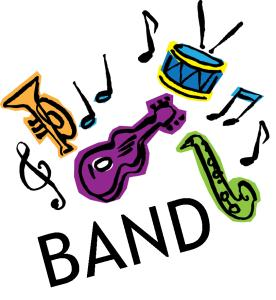 Band clip-art picture