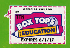Box Top for Education coupon