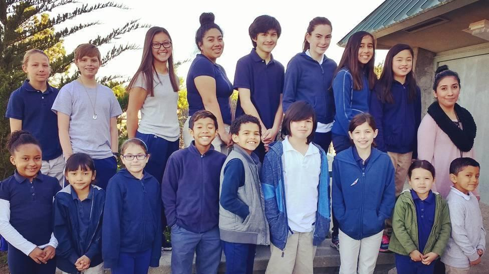 ISM students honored for the International Baccalaureate Learner Profile  attribue of communicators