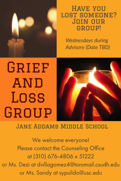 Grief and Loss Flyer
