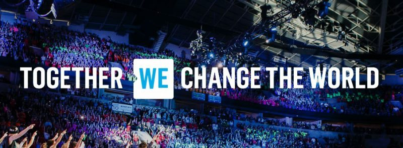 We day banner