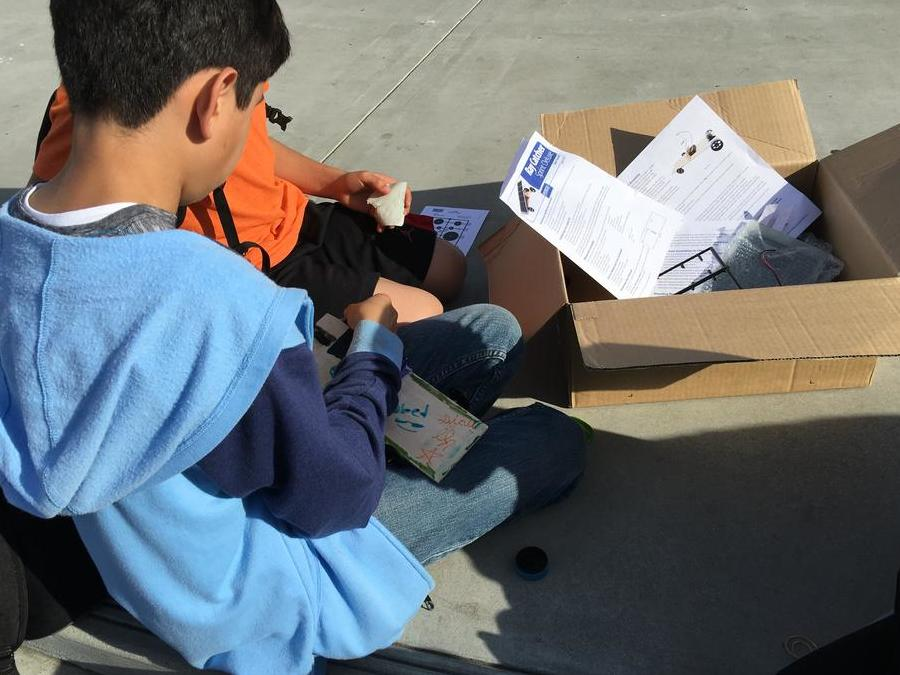 Students implementing STEAM at RAP