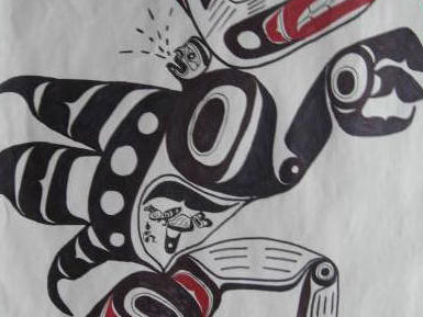 Pacific North West Native Americans version of Seamonsters