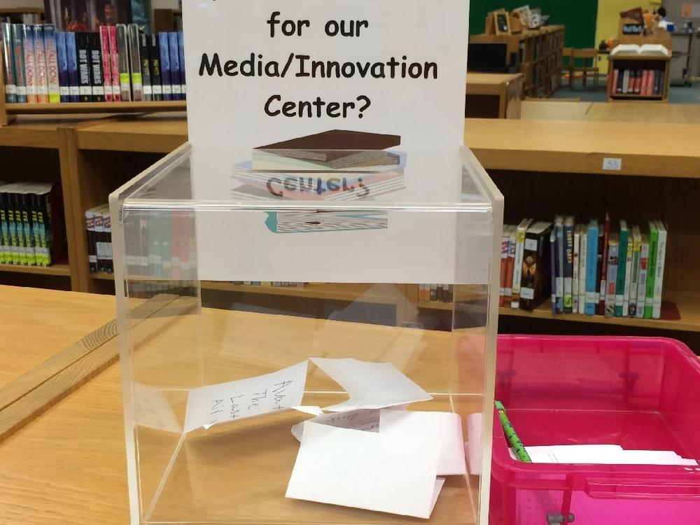 We are open to suggestions! Please bring your thoughts and ideas to our school!