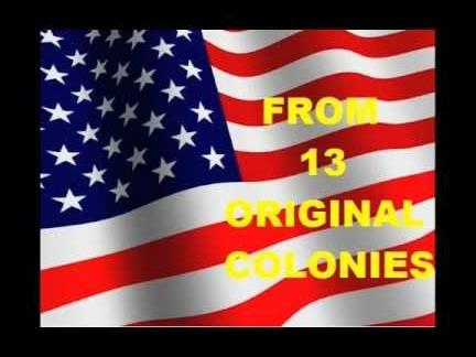 Our Nation Began as 13 Colonies