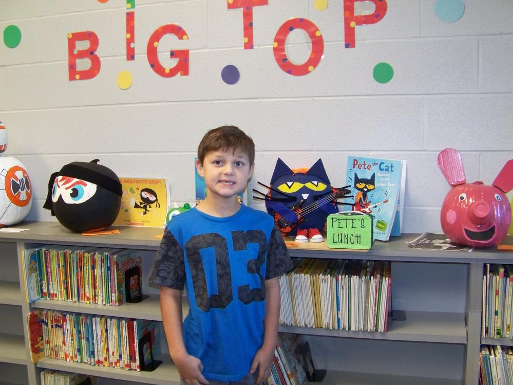 Library Pumpkin Book Character Contest