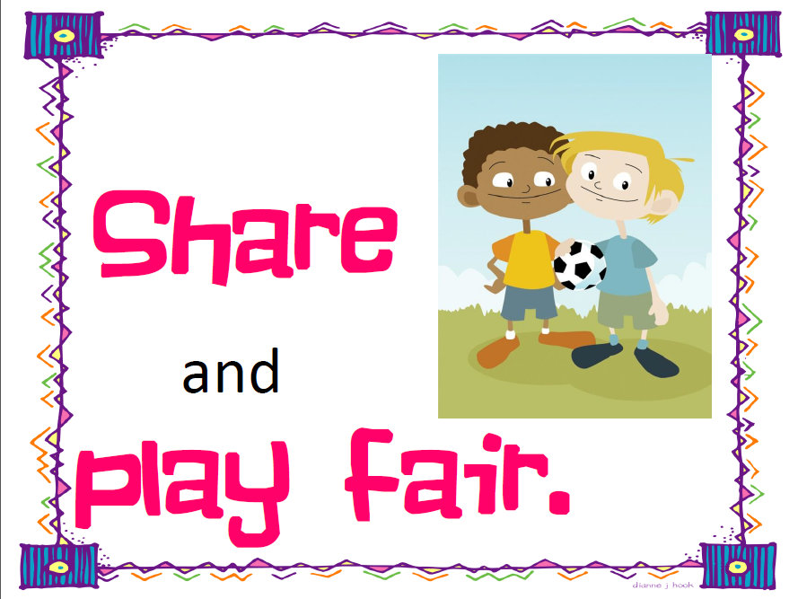 share and play fair logo