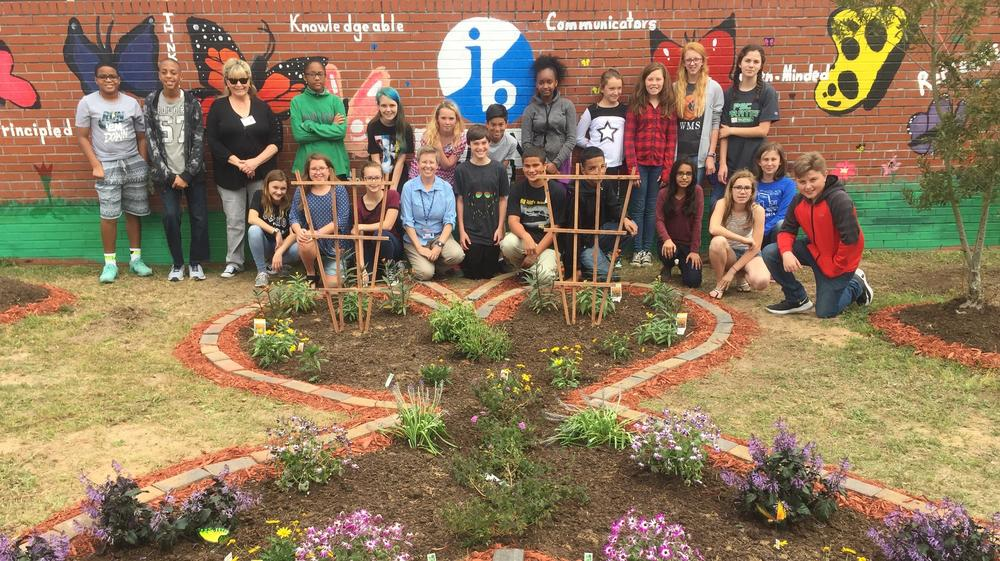 Extension Service helps Workman students with butterfly garden