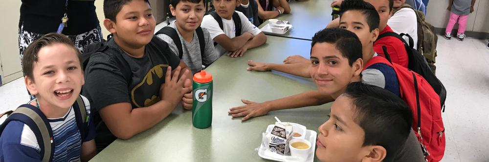 Antelope students happy to be back at school