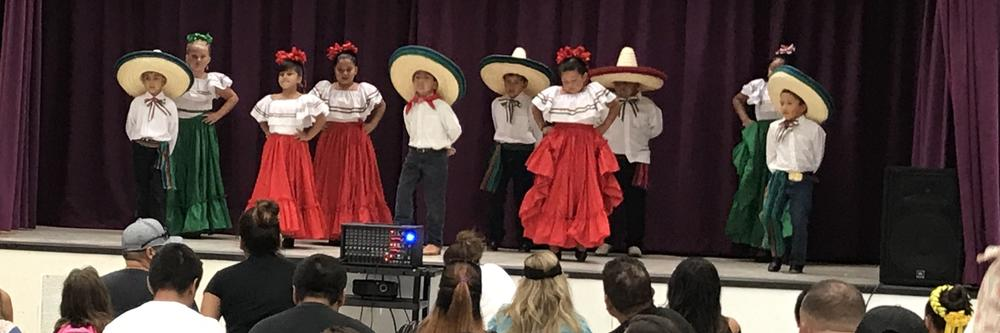 Gibson student dancers perform at the Keppel Family Academy