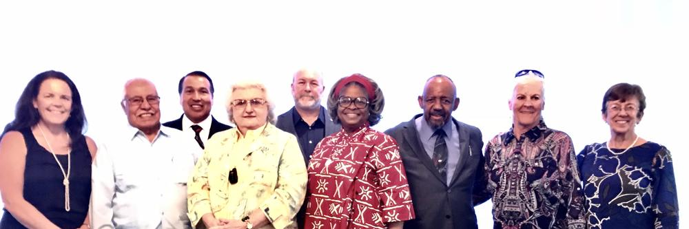 Keppel Board of Trustees and Former Keppel Staff who served students for 35  years or more.