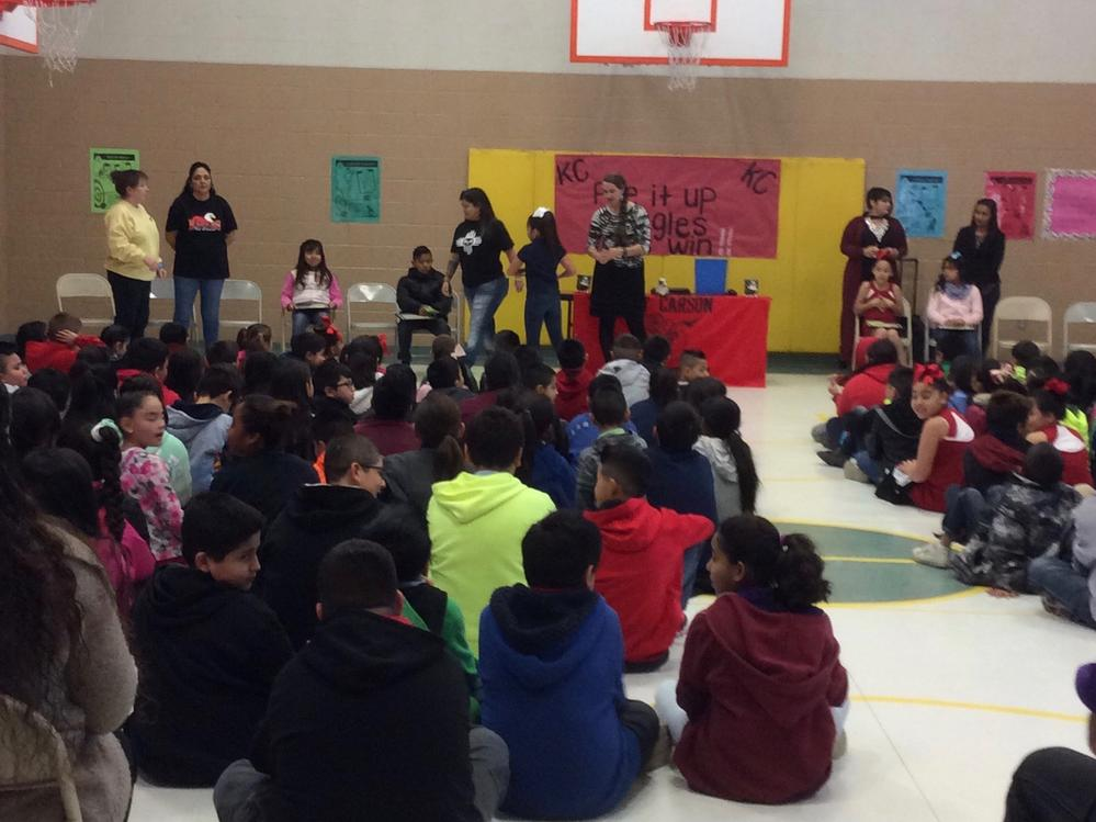 Photos from Student Assembly
