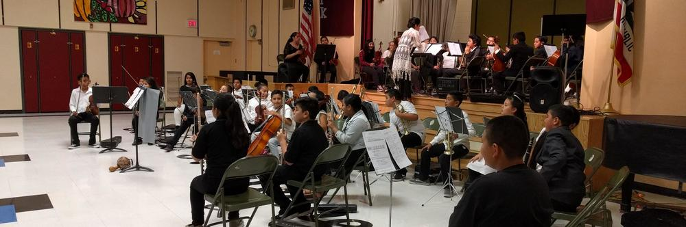 Our Kennedy school orchestra equips students to know, love, and respond to  music.