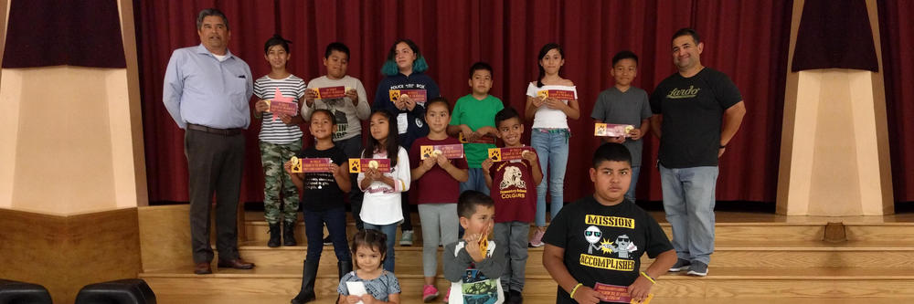 Congratulations to our citizens of the month!