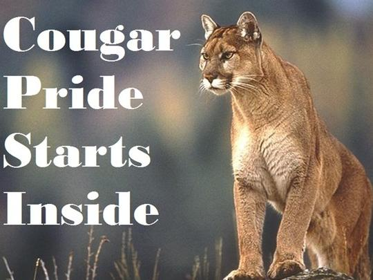 We are proud Cougars!