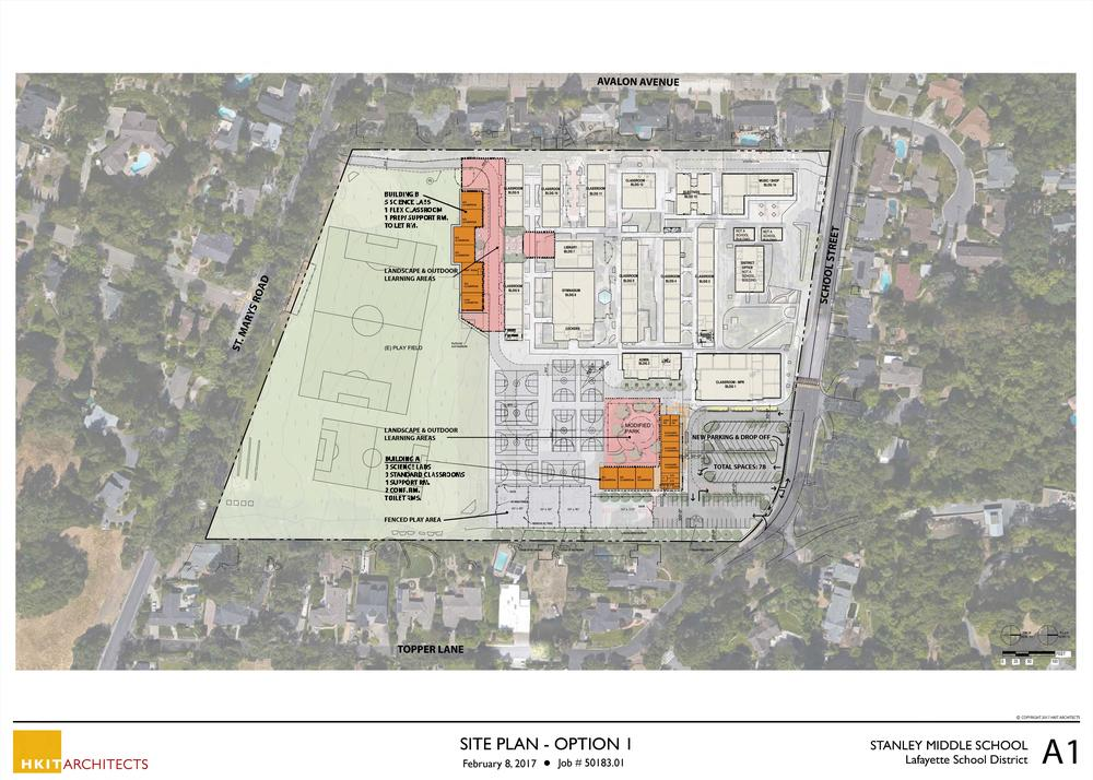 Stanley Site Plan Option 1