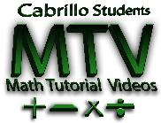 Math tutorial videos