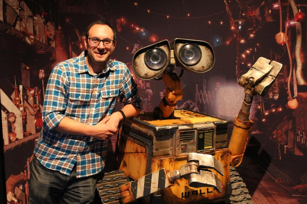 Tom McNamee with Wall-E