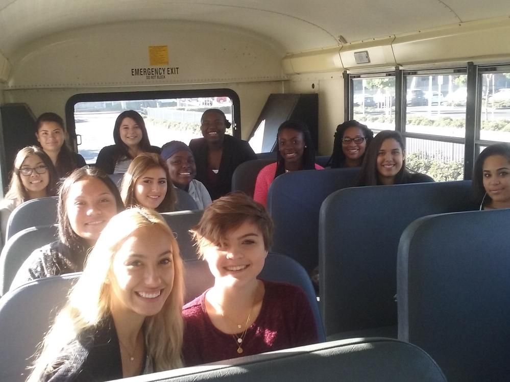 Girls on the Bus- Ladies Who Lunch
