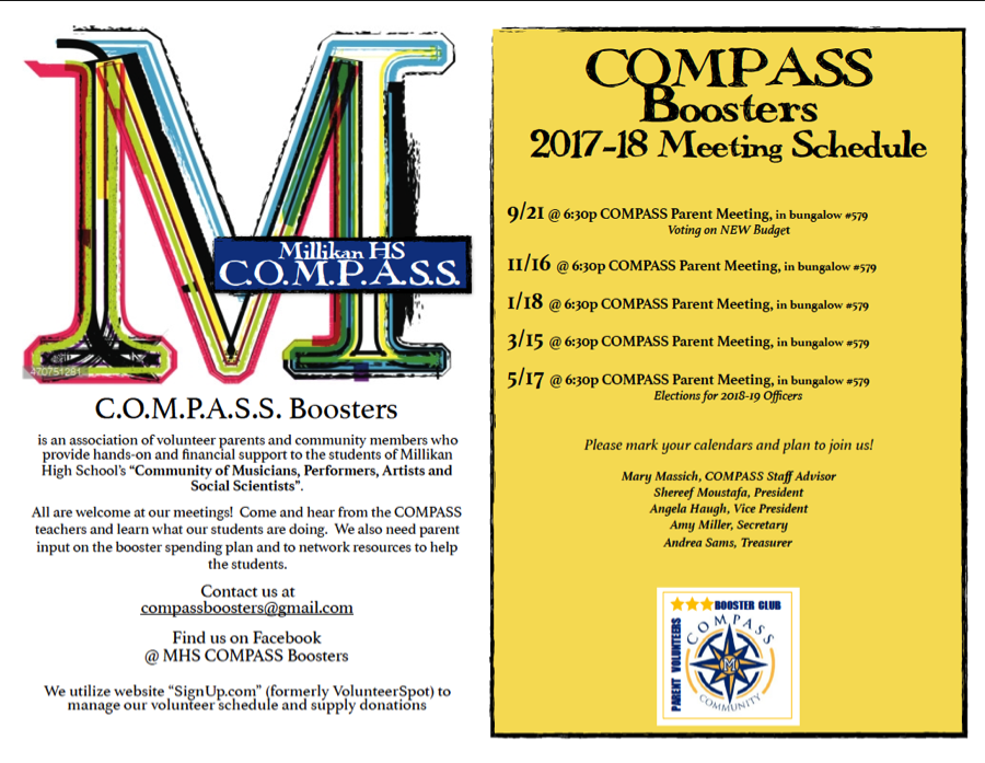 COMPASS Boosters Meetings
