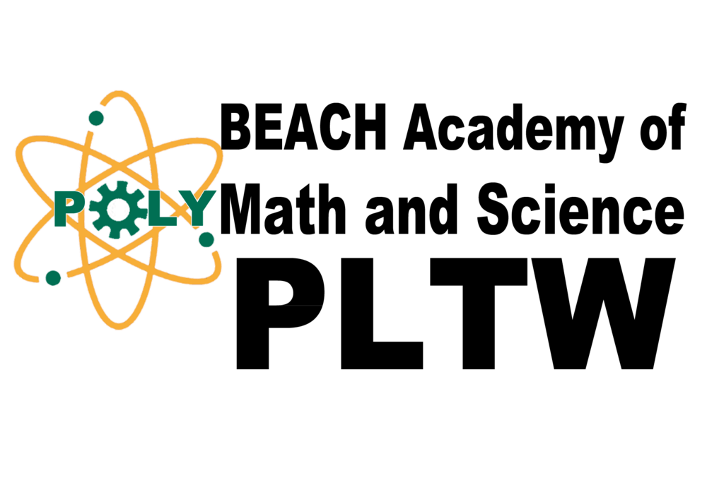 beach academy of math and science logo