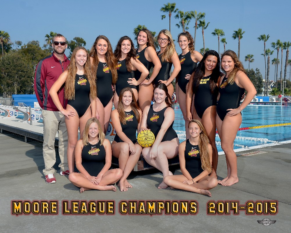 14-15 Girls Water Polo