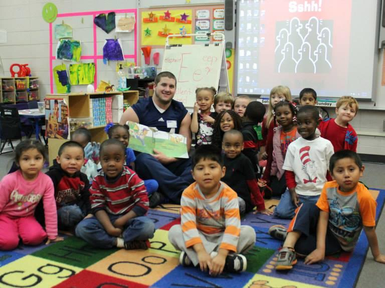 Read Across America with Guest Readers