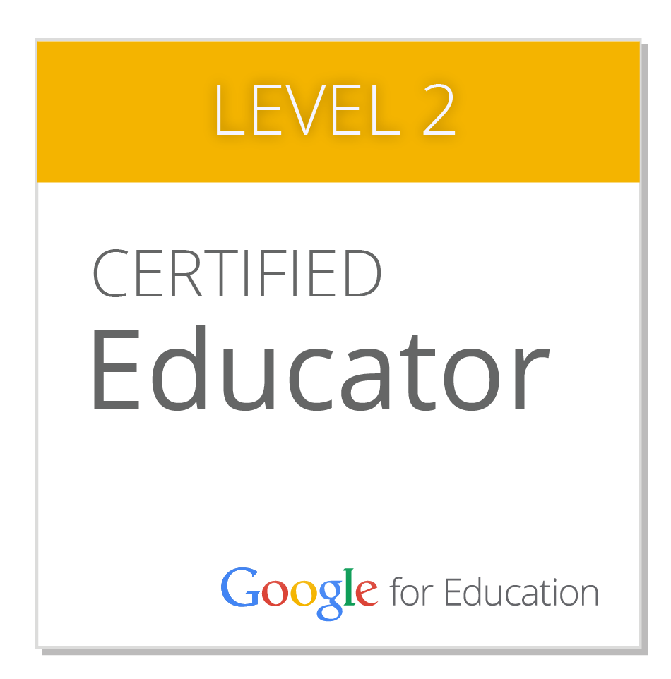 Badge certified educator Level 2
