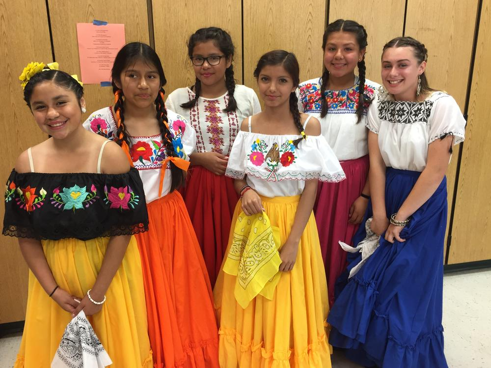 Lakeview dancers perform at the Mello