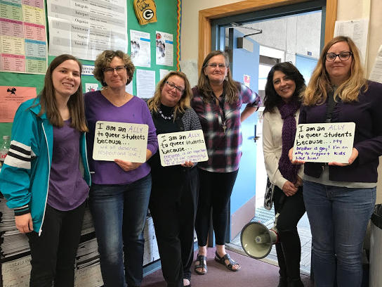 p Lakeview educators support LGBTQ youth! p