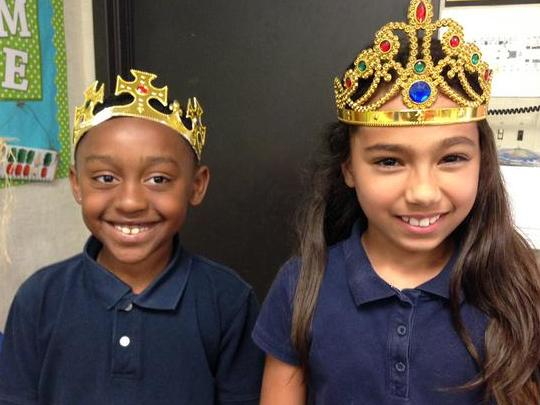 Conventions King and Queen! Perfect spelling   punctuation!
