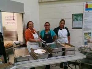 Thank you Maria and your wonderful helpers!