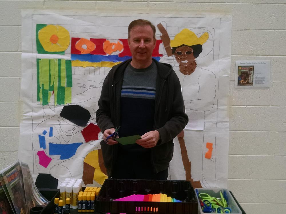 Thank you, Mr. Gates for Our Wonderful Art Crawl Event.
