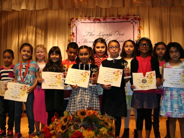 2nd 3rd Grade Oratorical Winners