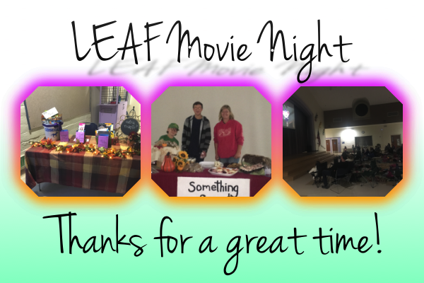 Leaf movie night