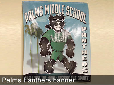 Scenes from Palms Middle School