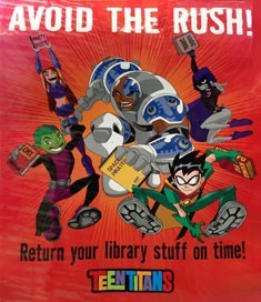 return your books on time