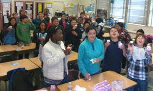 Box Tops homeroom party 2013