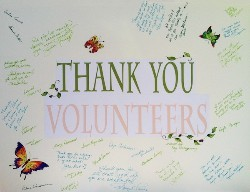 Volunteer Appreciation poster